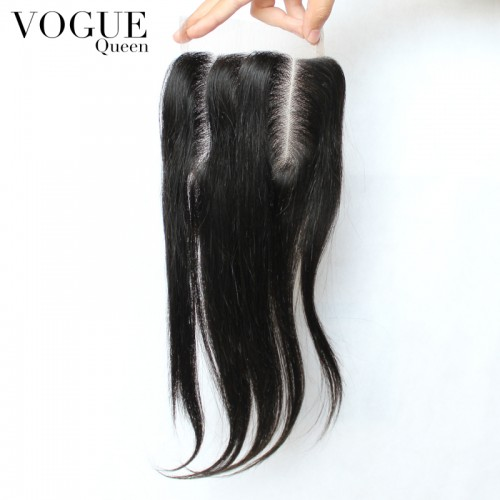 Brazilian Virgin Hair Straight 4x4 Virgin Human Hair With Baby Hair