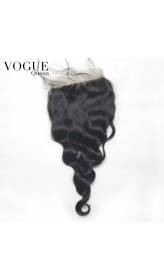 Brazilian Hair Loose Wave 5x5 Lace Closure,Free Part/Middle Part/3 Part,Natural Color