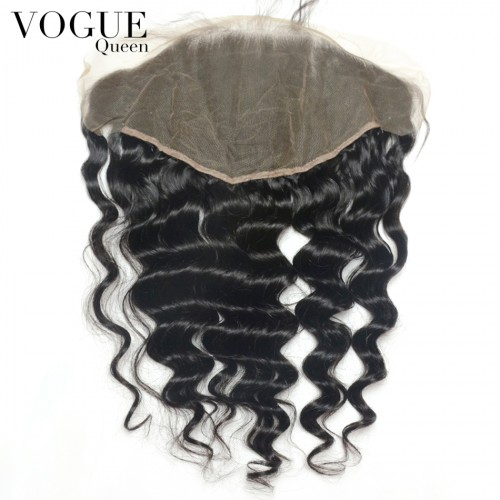 13x6 Brazilian Loose Wave Lace Frontal Closure,Unprocessed Virgin Human Hair