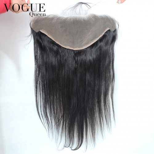 7A Grade Brazilian 13x6 Lace Frontal Closure Virgin Hair,Straight Lace Frontal With Baby Hair