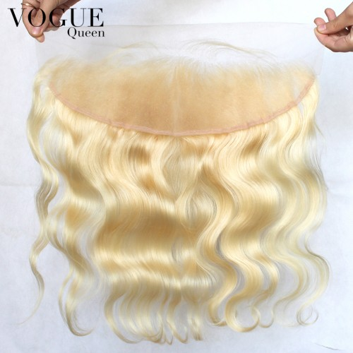 13x4 Lace Frontals 613 Blonde Body Wave Hair Lace Frontal Virgin Remy Wavy Brazilian Hair Blonde Frontal