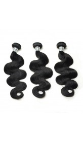 7A Grade 3pcs Human Hair Bundles Body Wave Human Hair Extensions
