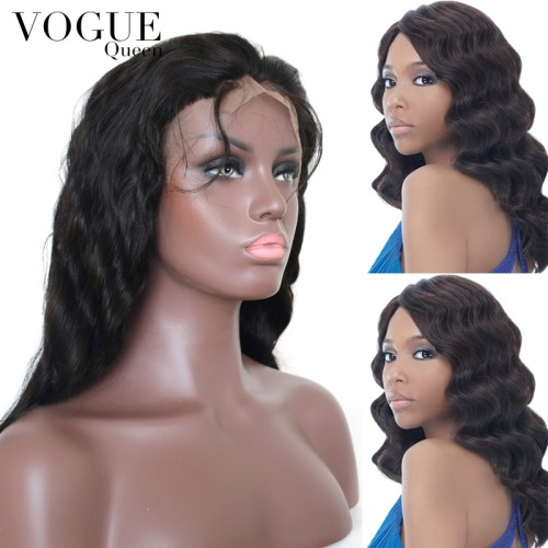 7A Grade Brazilian Virgin Hair Body Wave Full Lace Wigs,Human Virgin Hair Wig