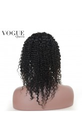7A Grade Brazilian Virgin Kinky Curly Wig Glueless Lace Front Human Hair Wig