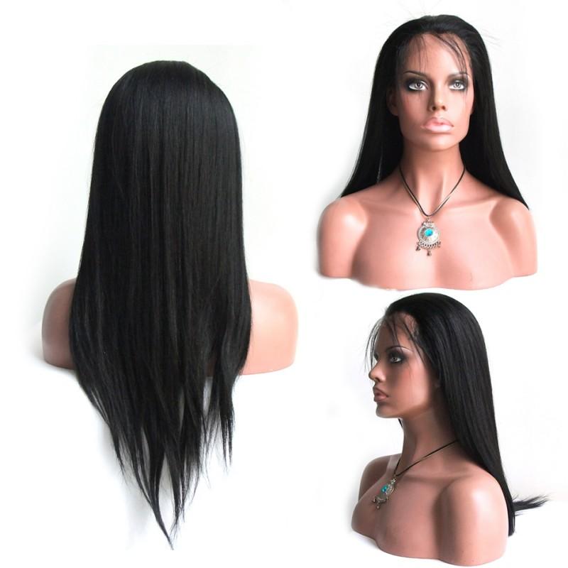 Light Yaki Straight Full Lace Wig 2229d83edb